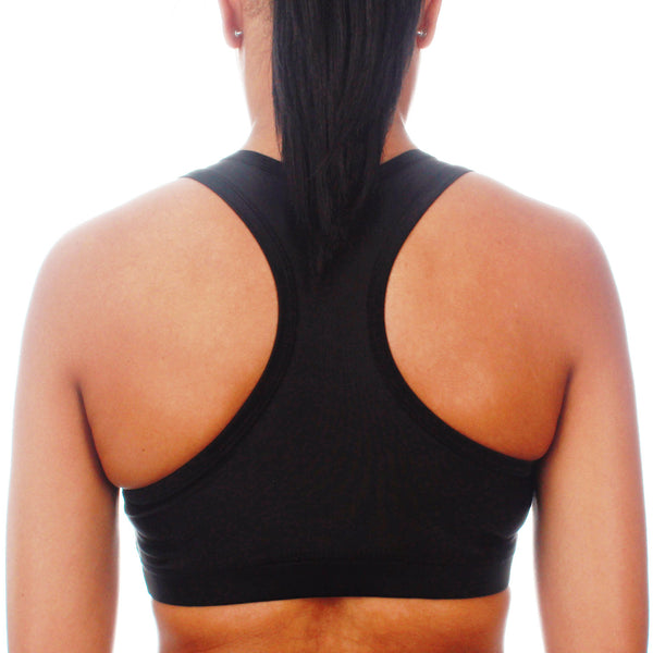 Mungo Black Sports Bra