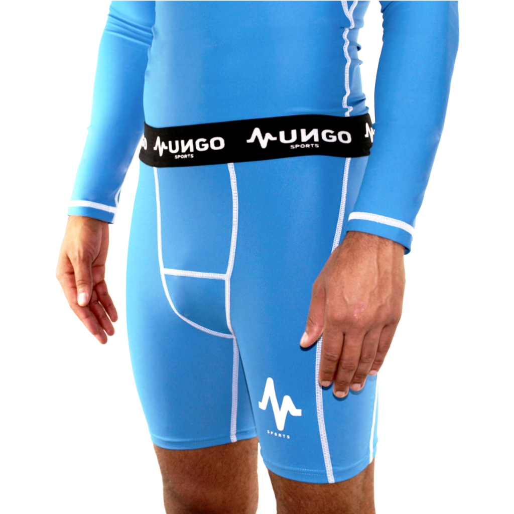 Mungo Elevation Blue Compression Shorts