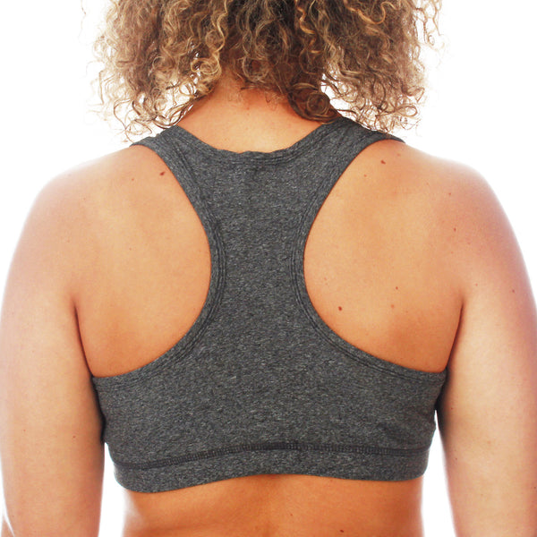 Mungo Grey Sports Bra