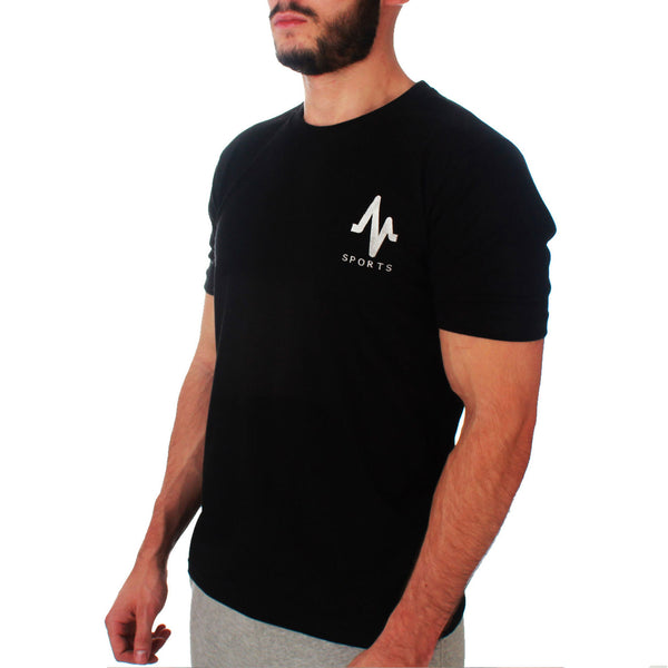 Mungo Black Slim Fit T-shirt