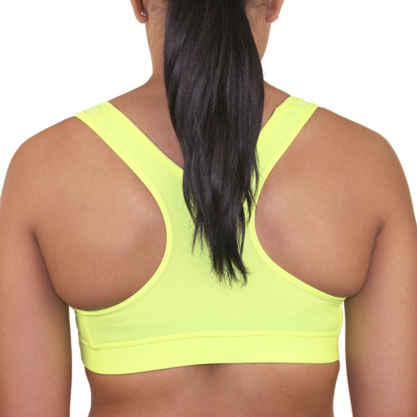 Mungo Neon Yellow Sports Bra