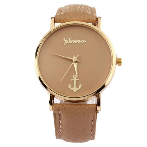 Anchor Leather Watch - Arza