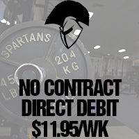 Spartans Gym Ballarat Direct Debit no contract