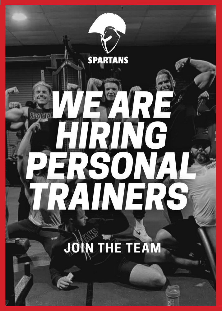 Want to be a Spartans Trainer?