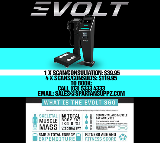 EVOLT Active Bodyscan + consultation x4