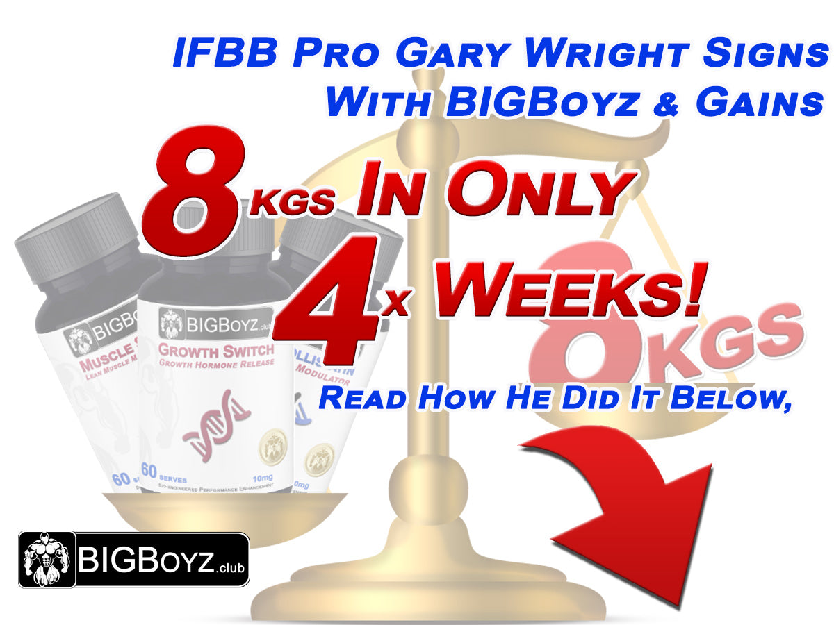 IFBB Pro Gary Wright Signs With BIGBoyz (Dec 2016)