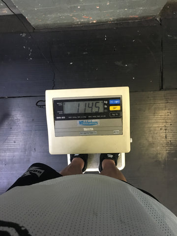 IFBB Pro Gary Wright Scales 114.5