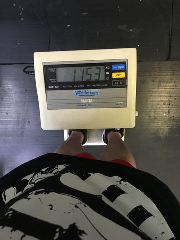 IFBB Pro Gary Wright Scales 115.3kgs