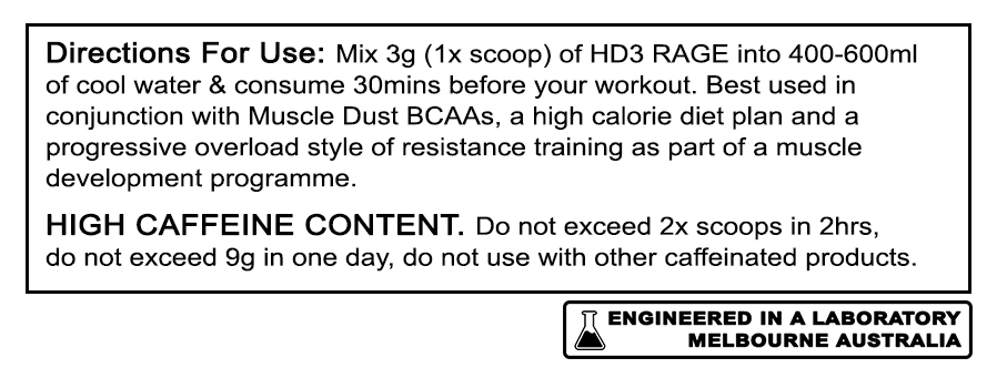 Hulk Dust 3 (HD3) - RAGE Directions