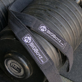 BIGBoyz Cotton Lifting Straps 100Kg Dumbbells
