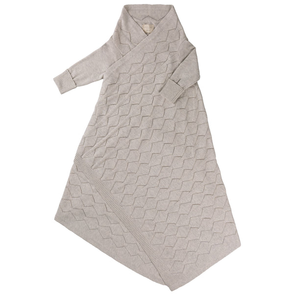 Diamond Lace Pointelle Shwrap™ - Silver