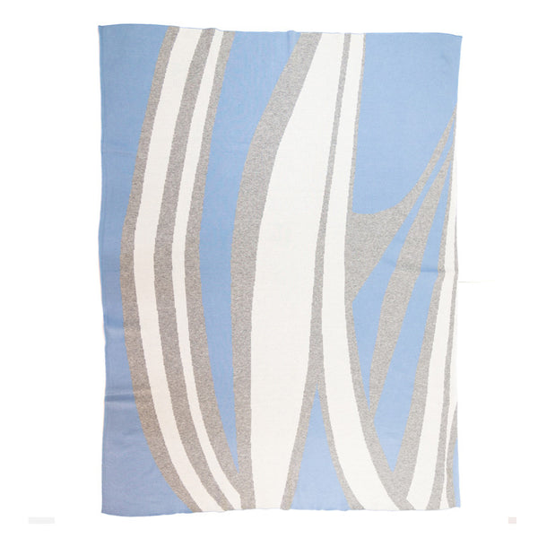 Spliced Graphic Blanket