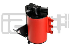 IAG Performance Competition Series Air / Oil Separator (AOS) in Red For 2008-14 Subaru Impreza WRX & 2008-18 STI