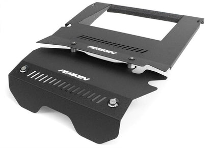 Perrin Performance Intercooler Shroud and Belt Cover Kit 15-17 WRX Black