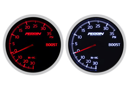 Perrin Performance Gauge Boost 60mm 35psi
