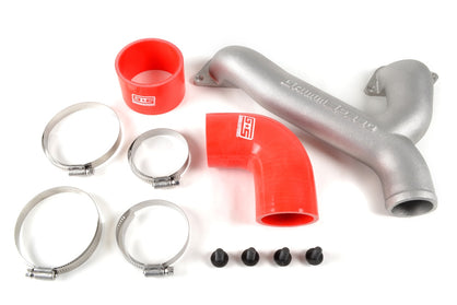 Grimmspeed Top Mount Intercooler Aluminum Y-Pipe Kit RED - Subaru 02-04WRX/04-17STI/FXT