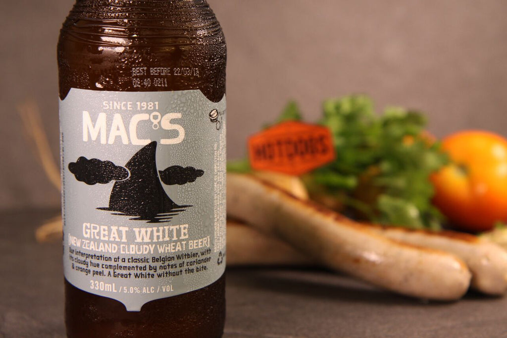 MACs Great White Beer