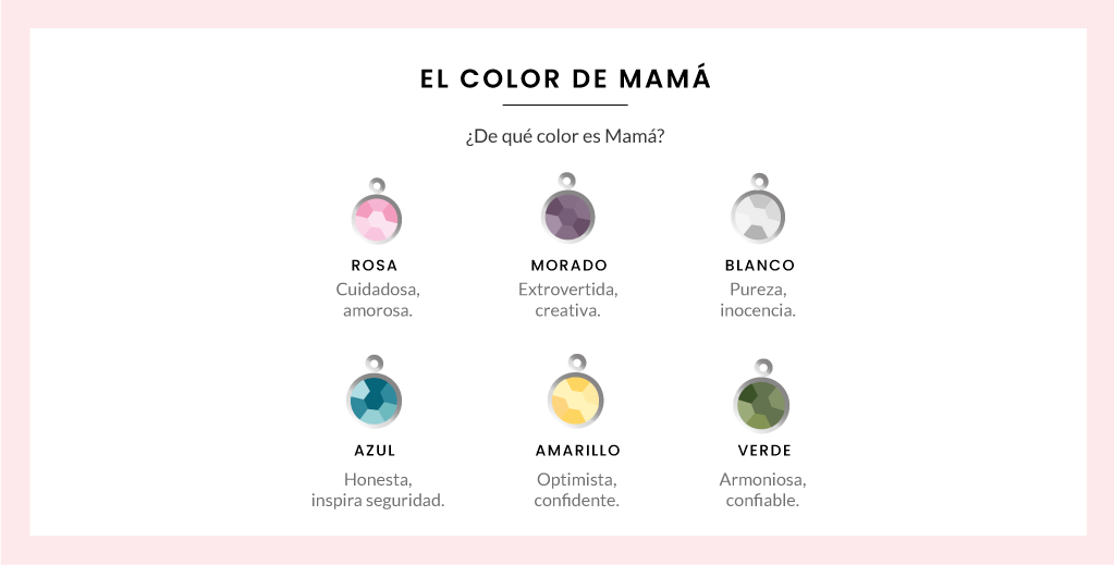Charms Color de Mamá