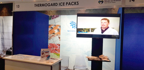 Thermogard stand at Meals on Wheels Conference