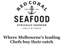 Red Coral Seafood Logo