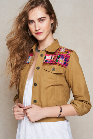 Wild at Heart Jacket Green