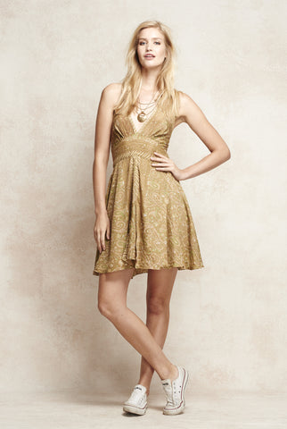 Georgina Halter Dress