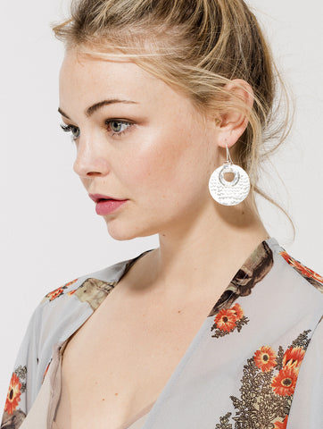 Secret Spiral Earrings