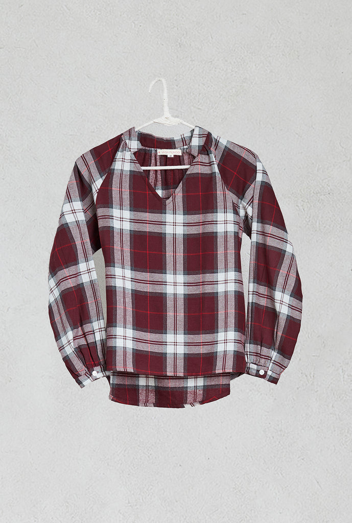 burgandy-plaid