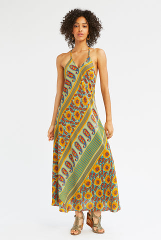 Summer Solstice Silk Dress