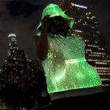 ILLUMINATED FIBER OPTIC HOODIE