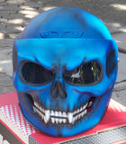 Monster Ghost Rider Visor Helmet