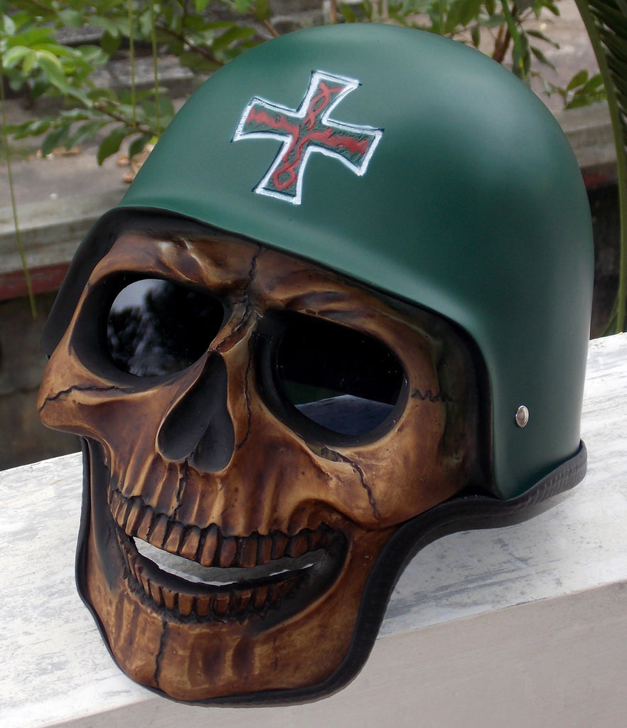 Soldier of Death Skull Helmet WW2 Army Soldier Helmet