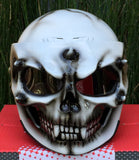 Custom Helmet Ghost Rider Monster White DOT