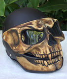 Night King Motorcycle Helmet 3D Black Knight Skull
