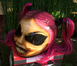 Draculaura Monster High Motorcycle Custom Helmet Cute Ponytails