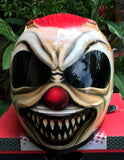 Crazy Killer Clown Mask Full Face Helmet