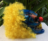 Clown Monster Killer Clown Custom Motorcycle Helmet Crazy 3D Clown Scary