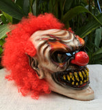 Monster Killer Clown Custom Motorcycle Helmet Crazy Clown Scary Halloween IT