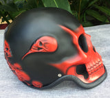 Ghost Rider Death Skull Helmet Blood Red Grim Reaper