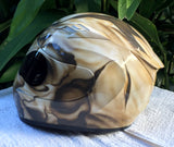 Cracked Skull Broken Skull Motorcycle Helmet