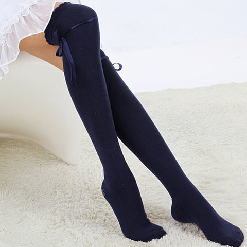Winter Over Knee Thigh High Cotton Socks
