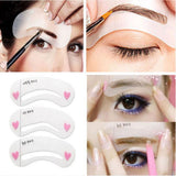 Waterproof Longlasting Shadow Eyebrow Pencil Kit