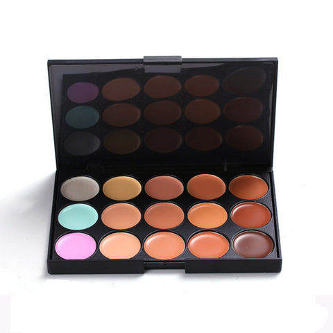 15 Color Concealer Contouring Makeup Palette Kit
