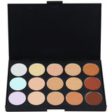 15 Color Pro Concealer Face Cream Contour Palette