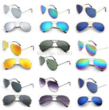 Oculos De Sol Unisex Polarized Aviator Mirrored Lens UV Protection Sunglasses