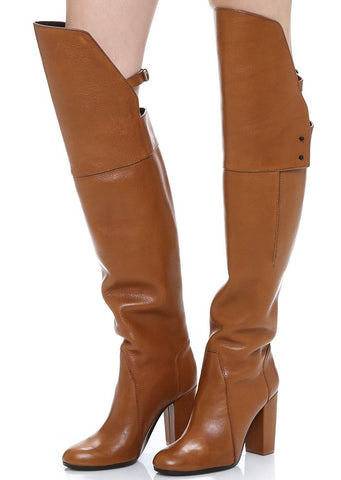 b8780c612d17b Genuine Leather Side Lock Ankle Boots – THULI NYC
