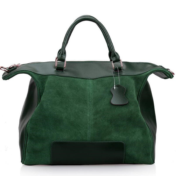 Handmade Soft Cowhide Genuine Leather Handbag