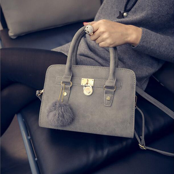 Messanger Bag Leather Top-Handle Bag