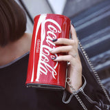 Coke Soda Clutch Bag
