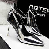Stiletto Hollow Out Pumps